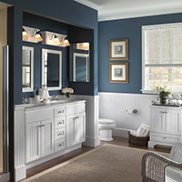 Bathroom vanities for sale at Flooring USA in Stuart, Florida