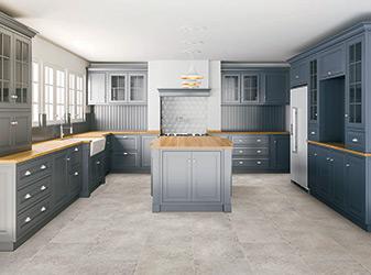Kitchen cabinets at Flooring USA in Stuart