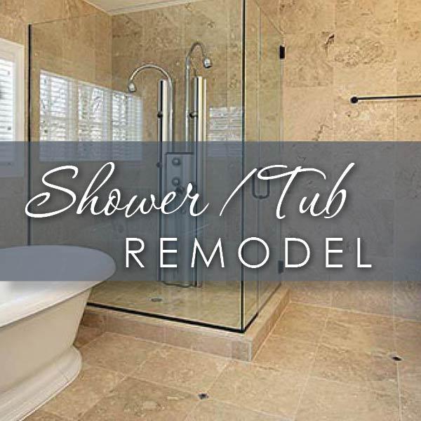 Shower Tub Remodel at Flooring USA in Stuart
